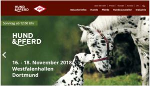 Messe Hund&Pferd 2018