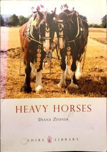 Cover Heavy Horses Shire Library