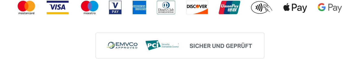 Sum Up Logos Kartenanbieter e-Payment