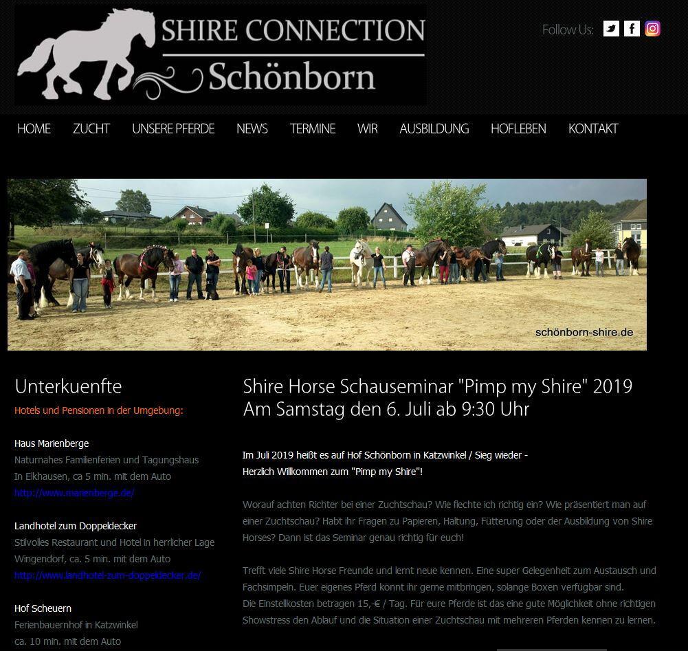 Pimp my Shire 2019